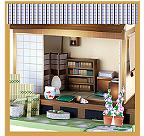 일본식 서재의 입구 화상