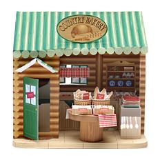 Papercraft imprimible y recortable de una panadería / bakery. Manualidades a Raudales.