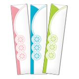 ピンク・青・緑のレースの「箸 ... : 包装紙 ダウンロード 無料 : 無料