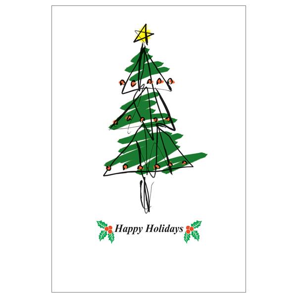 クリスマスカード ツリー 無料素材 ダウンロード ペーパー