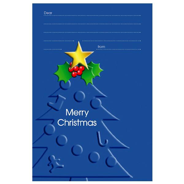 クリスマスカード クリスマスブルー 無料素材 ダウンロード