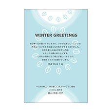 WINTER GREETINGS リーフ